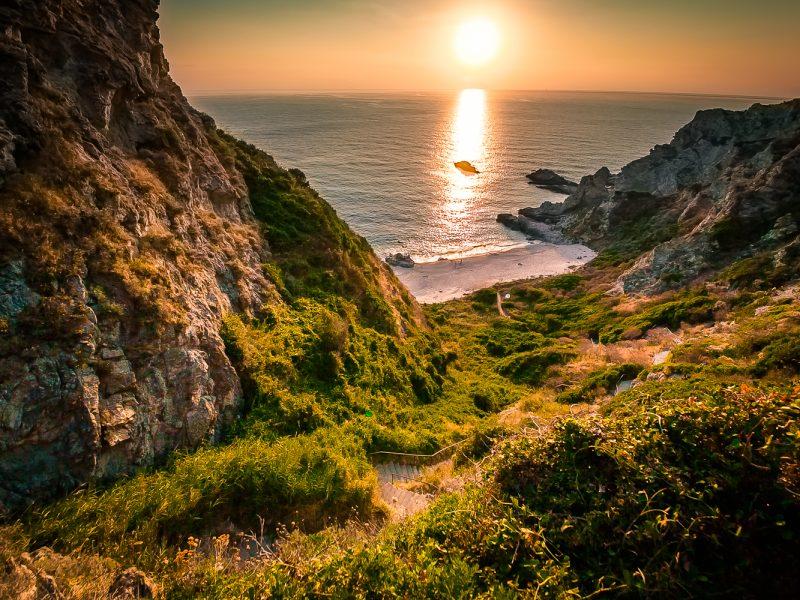 Calabrië - kustlijn
