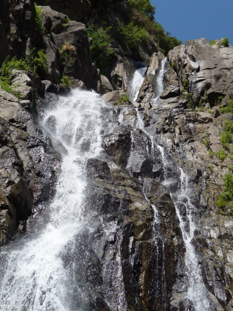 De watervallen van Marmarico