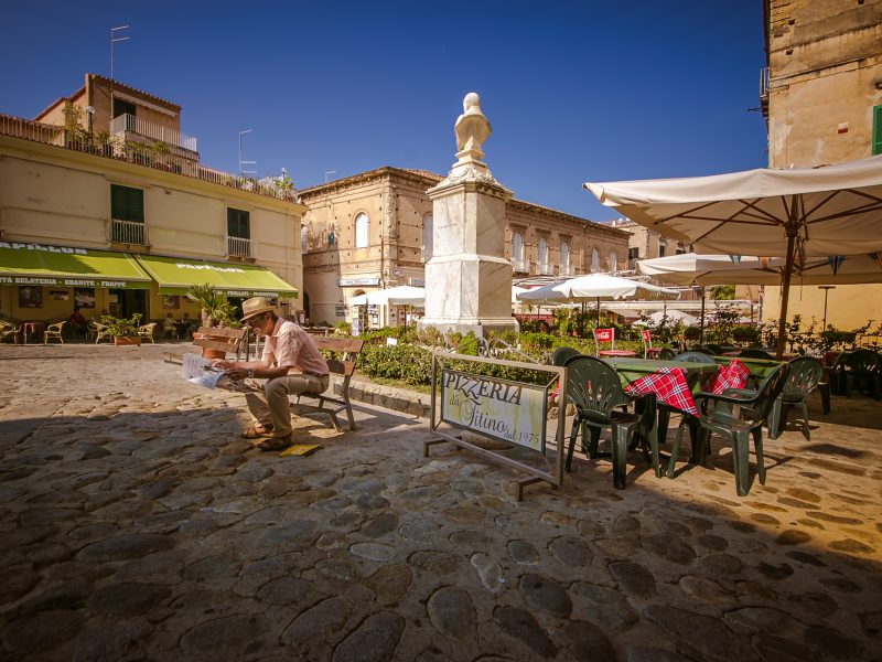 Calabria piazza