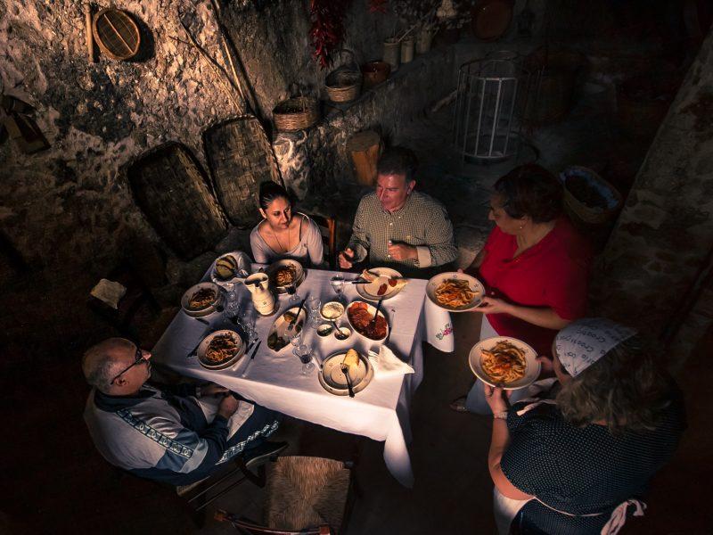 dineren eten in calabrie