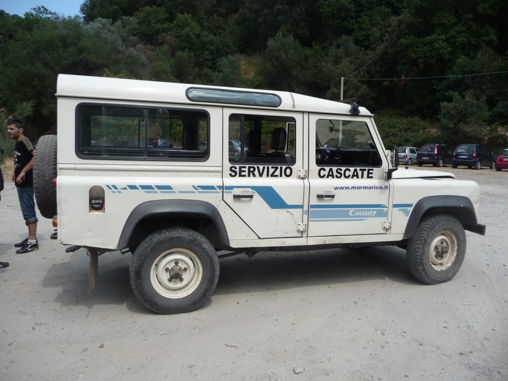 Marmarico jeep Bivongi