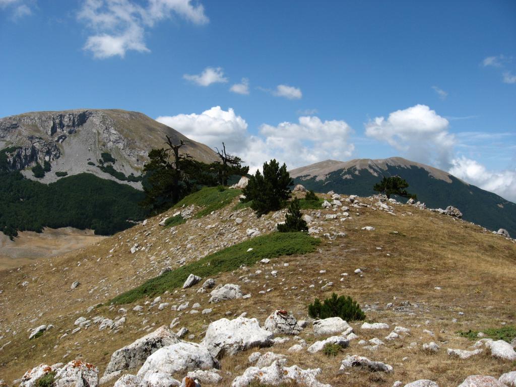 Monte Pollino - nationaal park Il Pollino